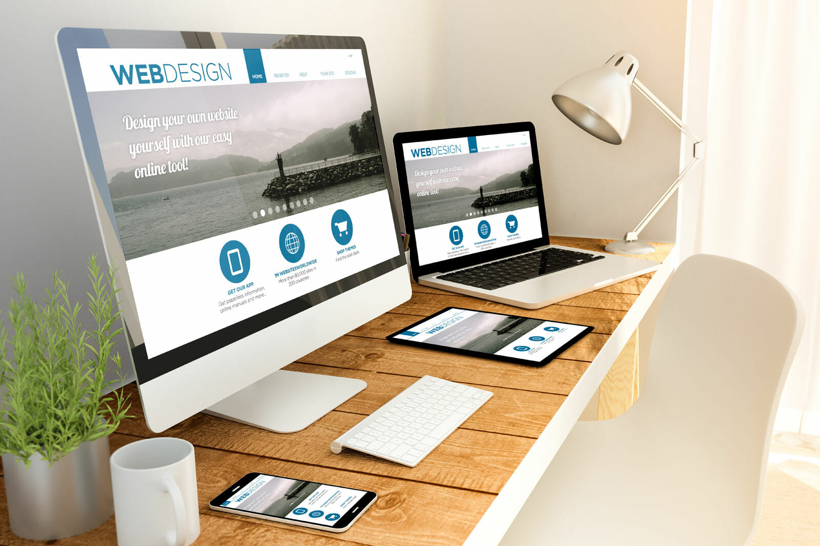 web design home 1 - Website Design Company